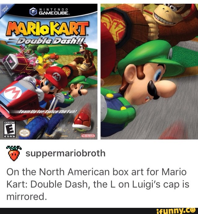 W Suppermariobroth On The North American Box Art For Mario