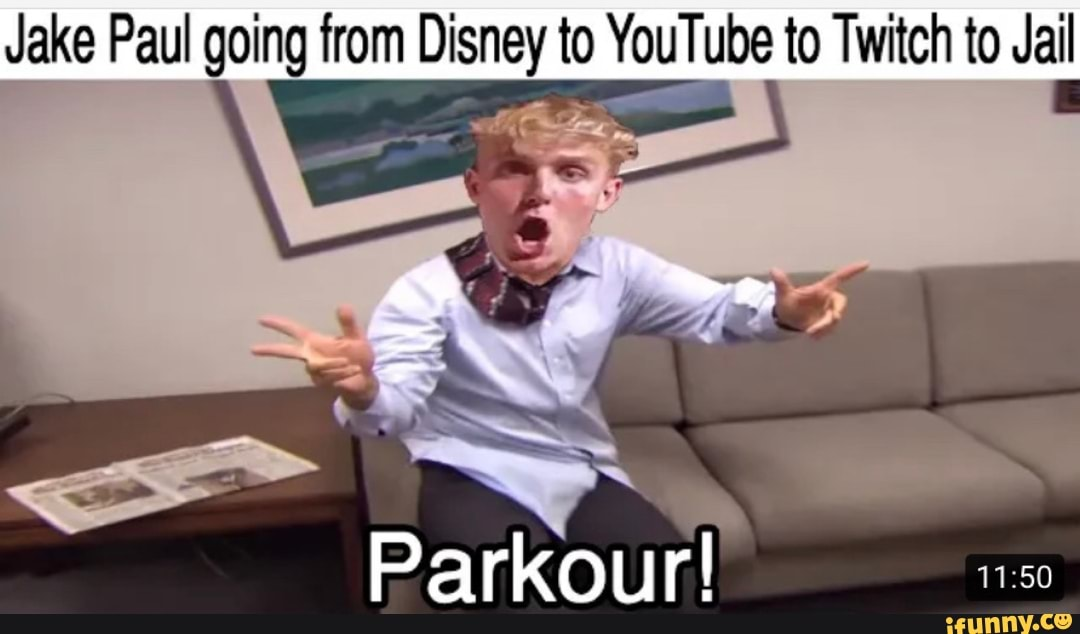 Jake Paul going from Disney to YouTube to Twitch to Jail 3 ...