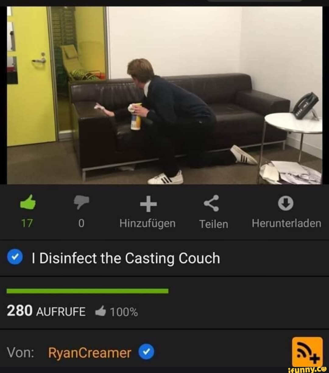 Casting Couch Surprise Anal