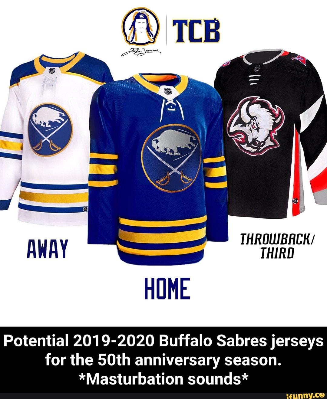 timeless design e2e59 b7a17 Potential 2019-2020 Buffalo Sabres jerseys for the 50th ...