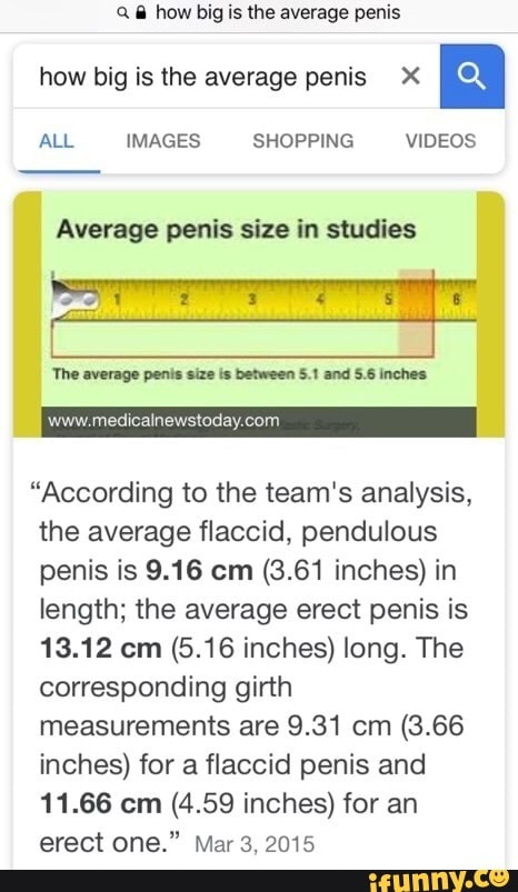 The Final Word On Penis Size