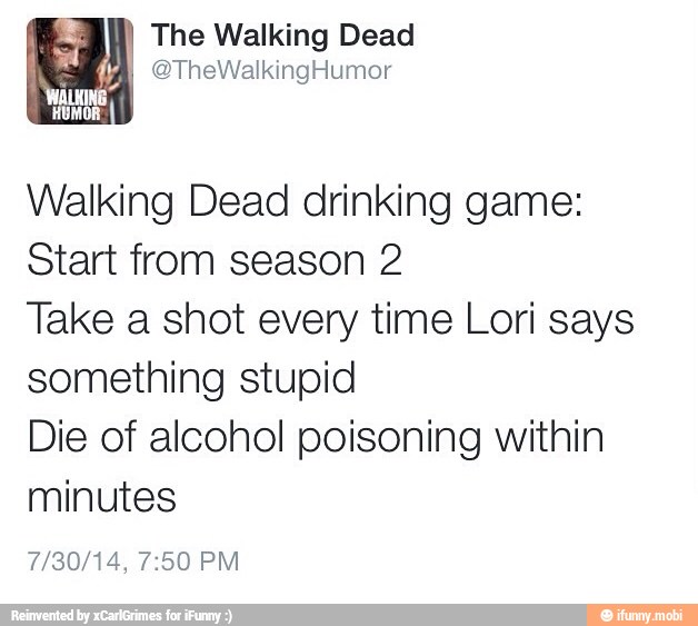 23+ Walking Dead Drinking Game Pictures