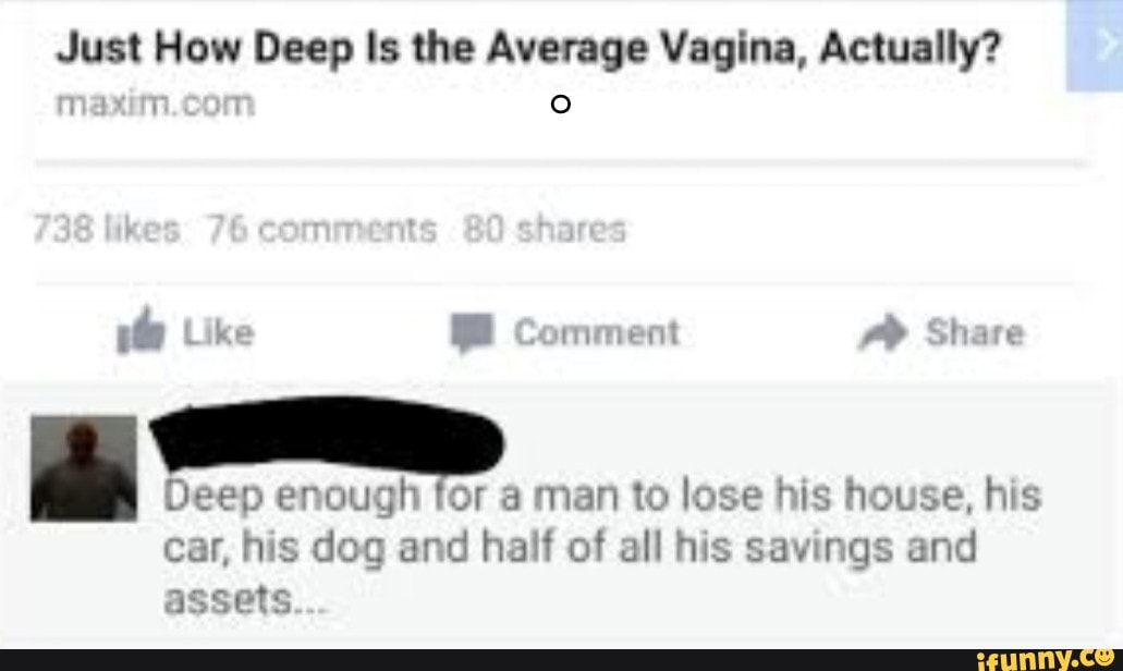 How deep is your vagina