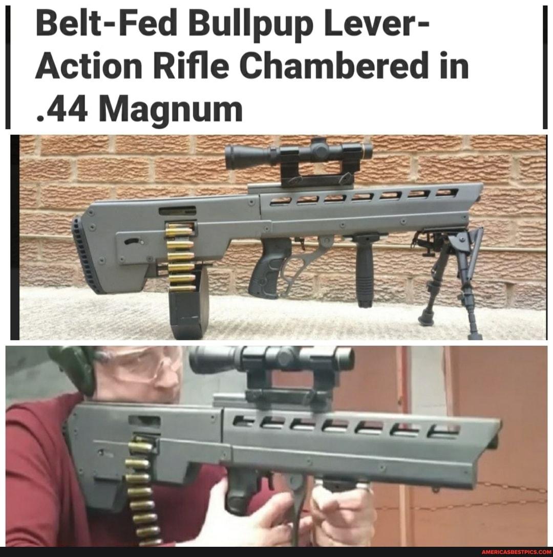 Belt Fed Bullpup