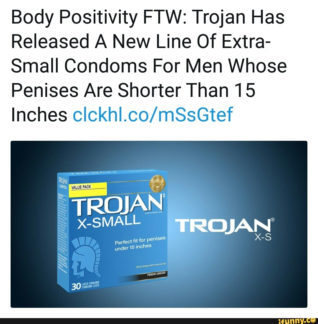 Body Positivity FTW: Trojan Has Released A New Line Of Extra