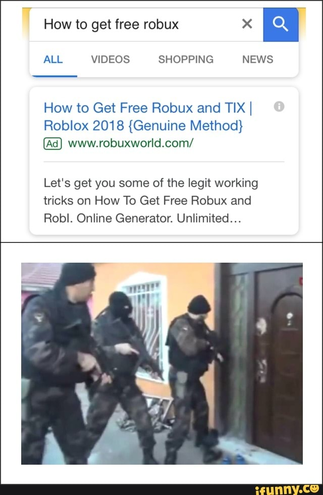 How To Get Free Robux And Tix I Roblox 2018 Genuine Method Www