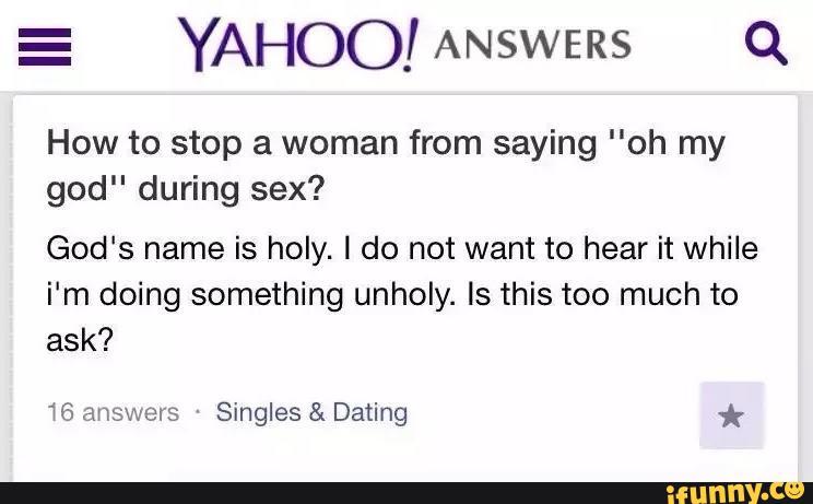 god dating site yahoo