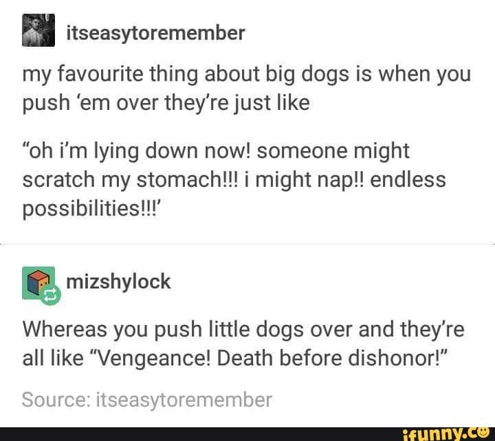 Pushing Someone Over
