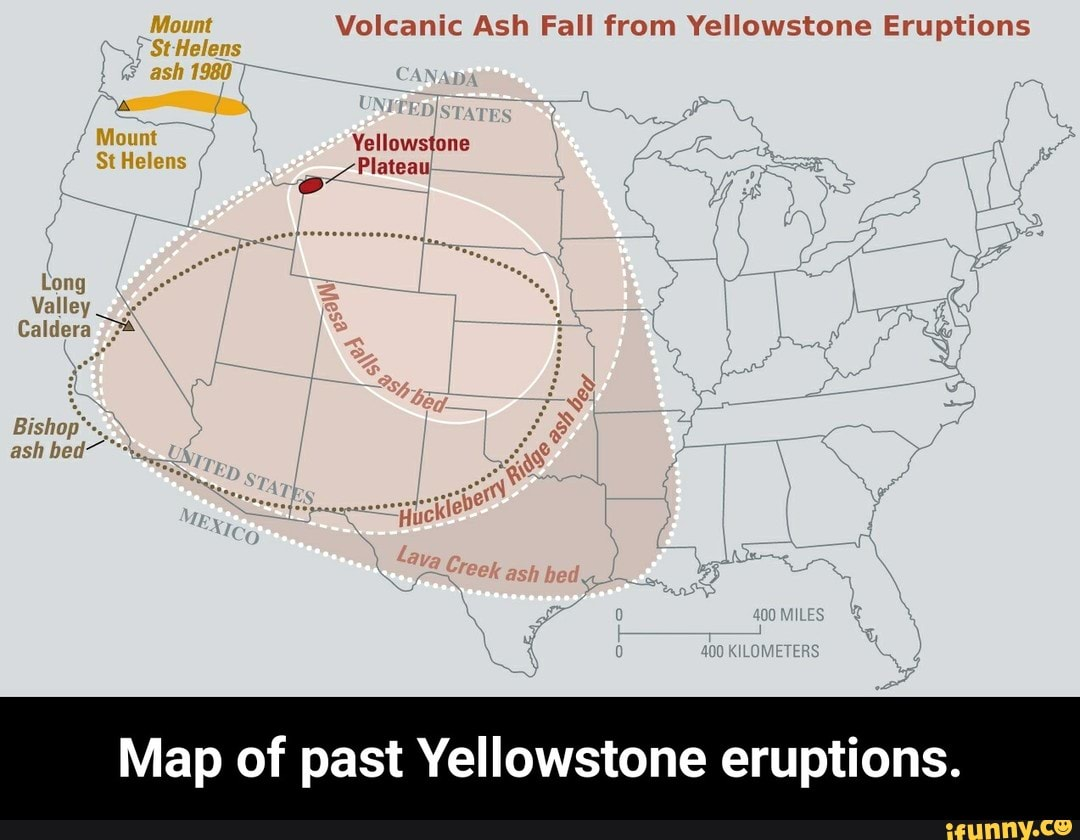 Volcanic Ash Fall from Yellowstone Eruptions Map of past Yellowstone on yellowstone destruction zone, yellowstone wildlife map, us caldera map, yellowstone lava map, resurgent domes in yellowstone map, destruction if yellowstone erupts map, yellowstone map printable, grand teton yellowstone area map, glacier road grand teton national park map, yellowstone map firehole, yellowstone ash cloud map, yellowstone pipeline map, yellowstone lake map, yellowstone elevation maps, yellowstone falls map, yellowstone volcano, yellowstone about to erupt, yellowstone national map, yellowstone on world map, yellowstone magma pool map,