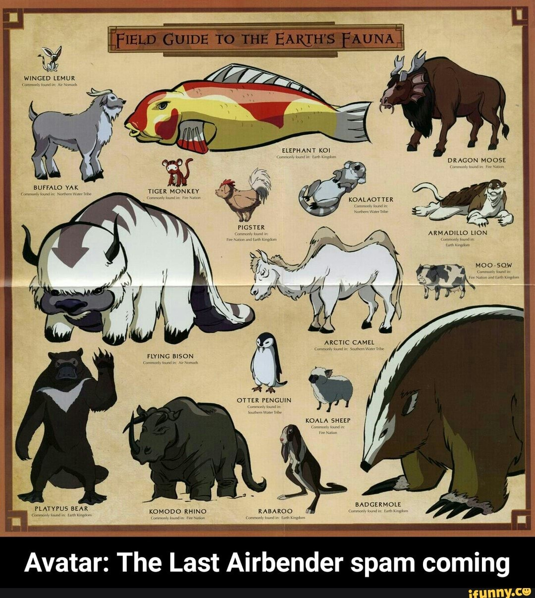 Avatar: The Last Airbender spam coming - iFunny :)