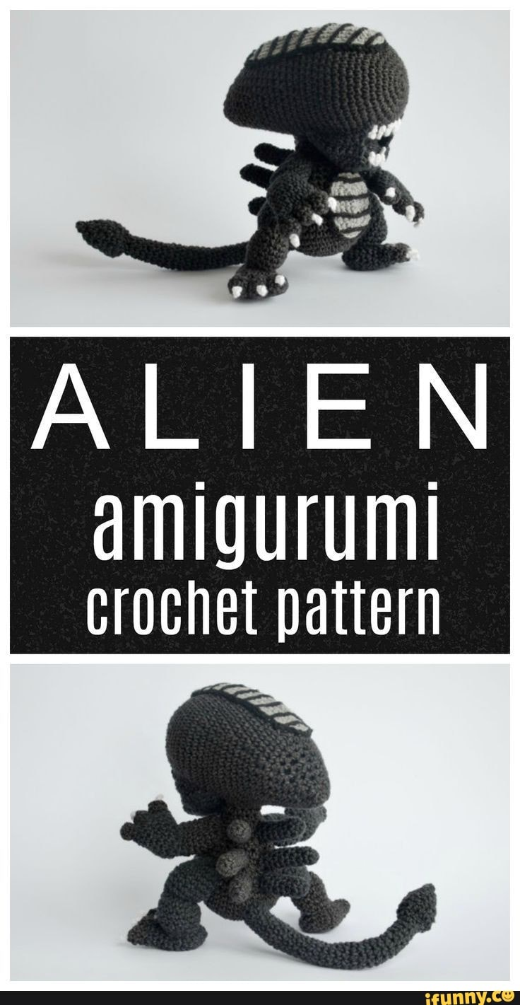 Little alien amigurumi pattern - Amigurumi Today | 1421x736