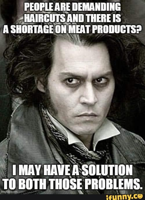 Sweeney Todd Memes
