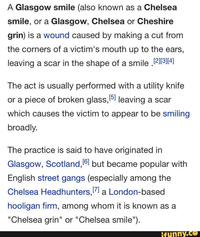 Chelsea Smile Hooligans
