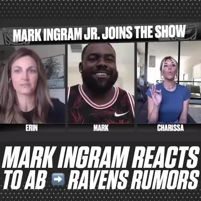 MARK INGRAM REACTS TOAB RAVENS RUMORS - iFunny :)