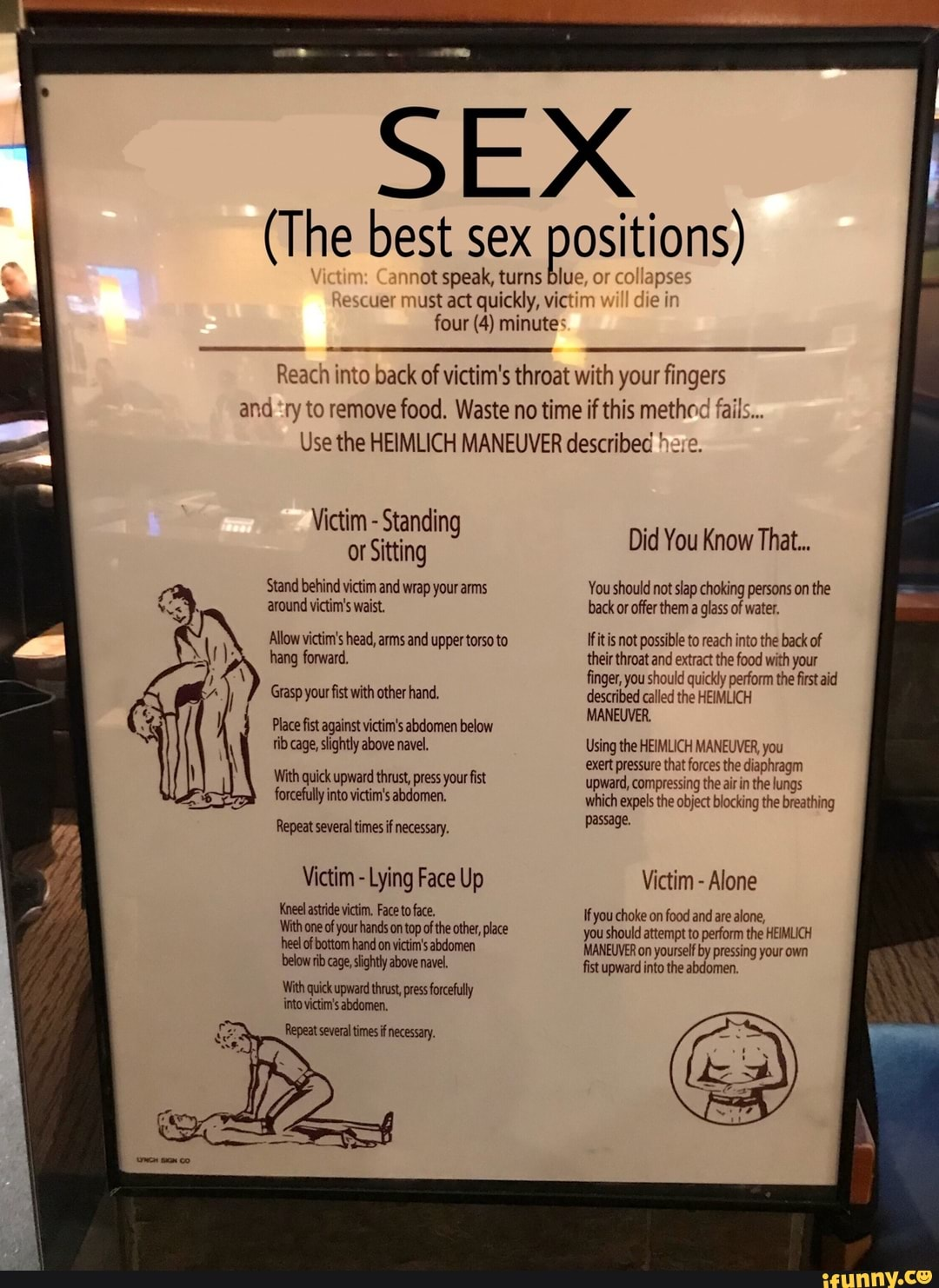 Heimlich sex
