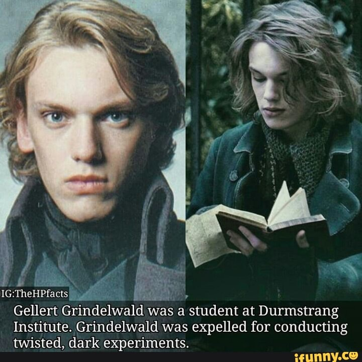 Ig Thehpfacts L Gellert Grindelwald Was A Student At Durmstrang Institute Grindelwald Was Expelled For Conducting Twisted Dark Experiments Ifunny Photo of a young gellert from the personal archive of his aunt, bathilda bagshot. ifunny