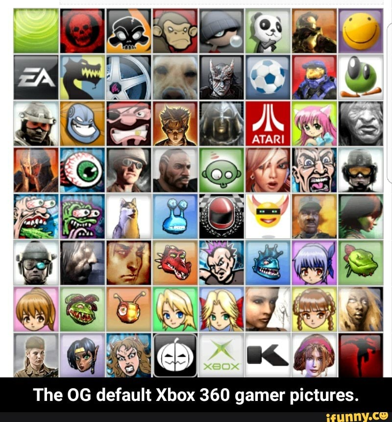 The Og Default Xbox 360 Gamer Pictures Ifunny