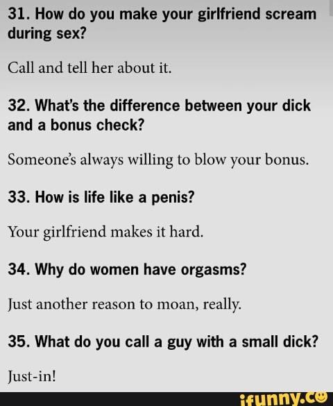 During scream why sex women Why Women