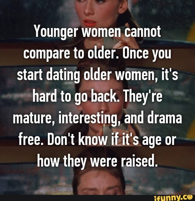 dating older women for free