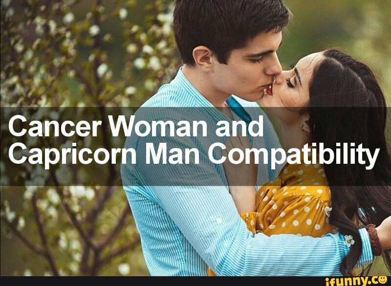 capricorn man dating a cancer woman