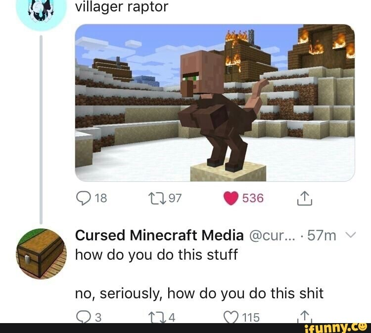 Cursed Minecraft Images Reddit Minepods Instagram Posts Photos