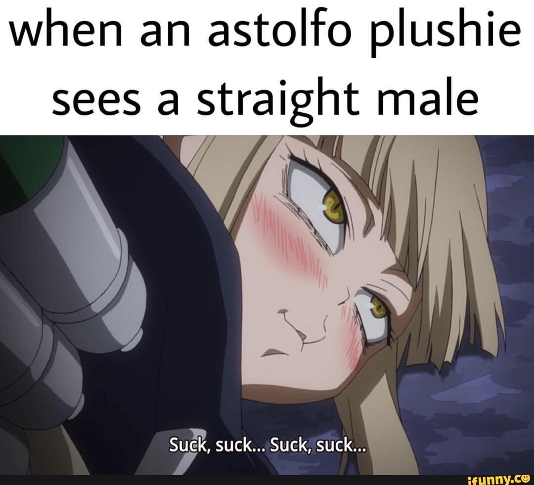 Astolfo Plushie when an astolfo plushie sees a straight male - ifunny :)
