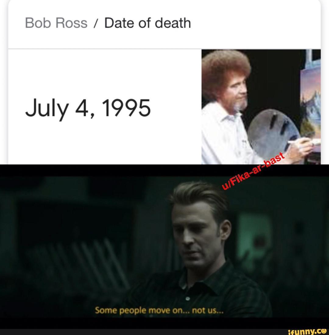 Bob Ross 1995