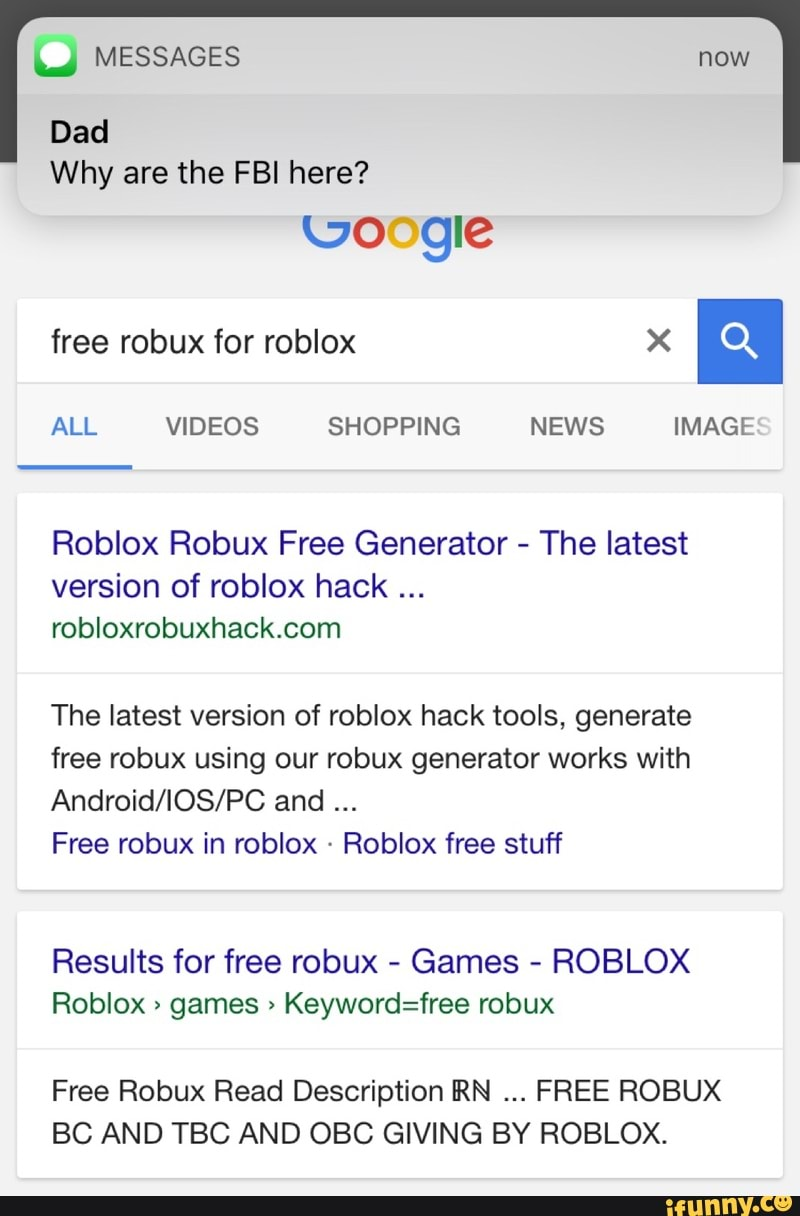Why Are The Fbi Here Roblox Robux Free Generator The Latest