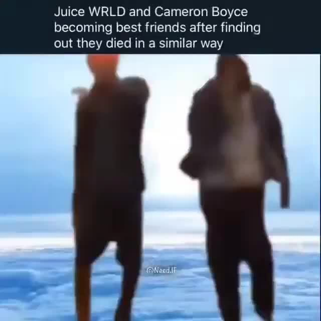 Juice Wrld And Cameron Boyce Becoming Best Friends After Finding