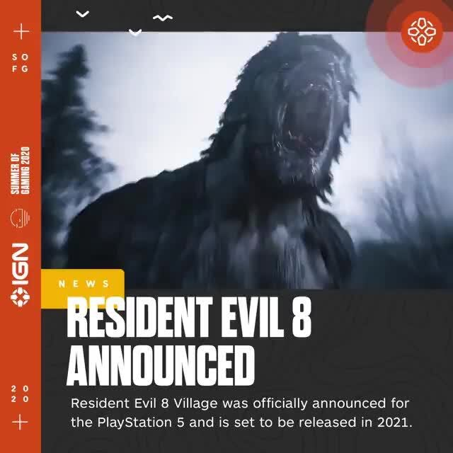 No Y Esident Evil 8 Announced Resident Evil 8 Village Was