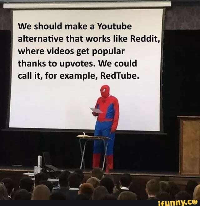 We should make a Youtube alternative that works like