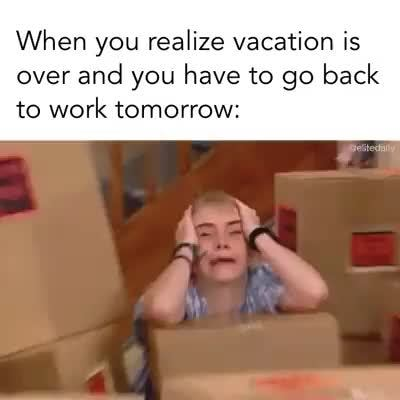 My Reaction When Summer Vacation Is Almost Over And Iam About To Start A New School Year Makeamemeorg Riley Anderson Back To School Meme By Santafeflyer On Deviantart Meme On Me Me