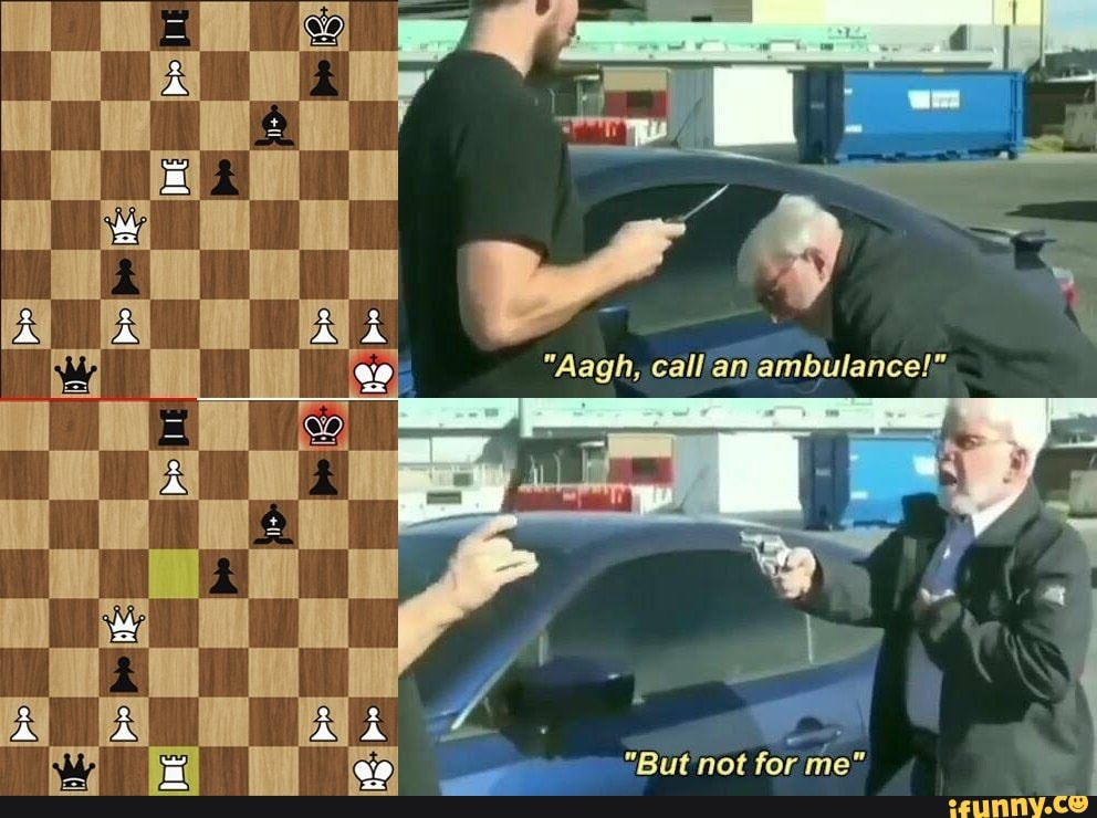 Al Es Aagh Call An Ambulance But Not For Me Ifunny The video shows the original clip that the meme format comes from but has been edited to add glowing eyes and a skull mask to the old man. al es aagh call an ambulance but