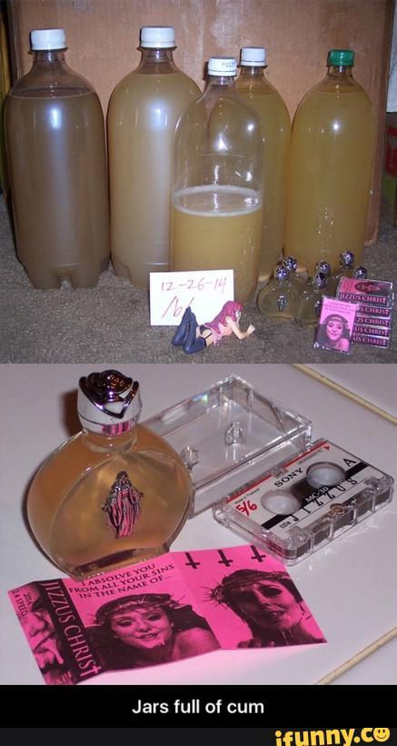 Jar of cum 2