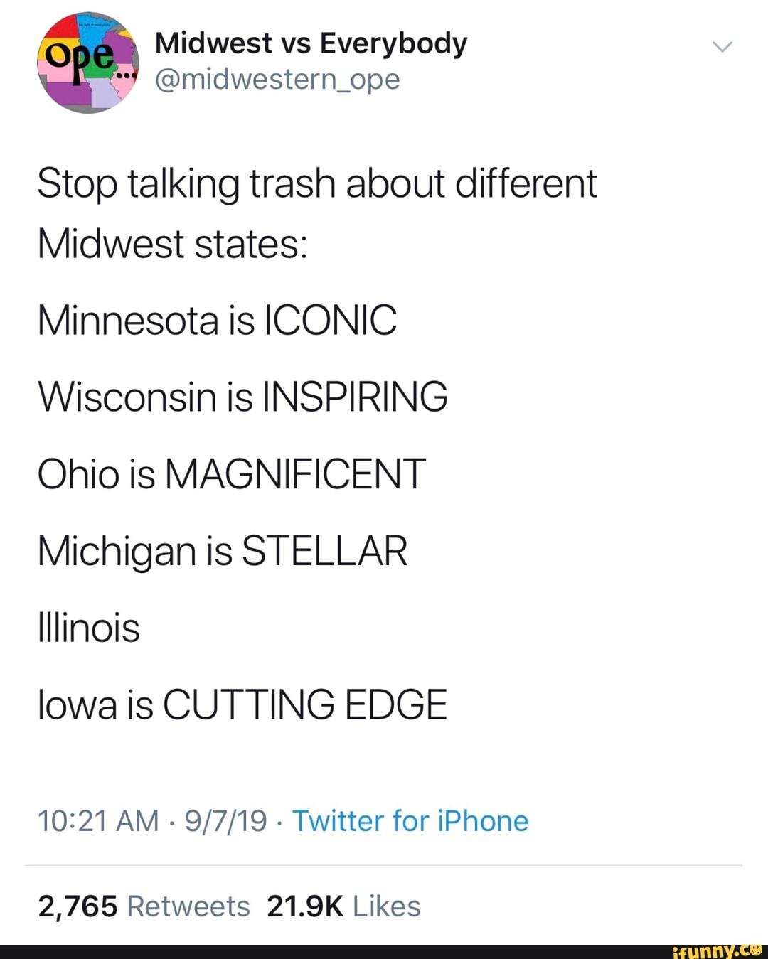 0 Midwest Vs Everybody Stop Talking Trash About Different Midwest
