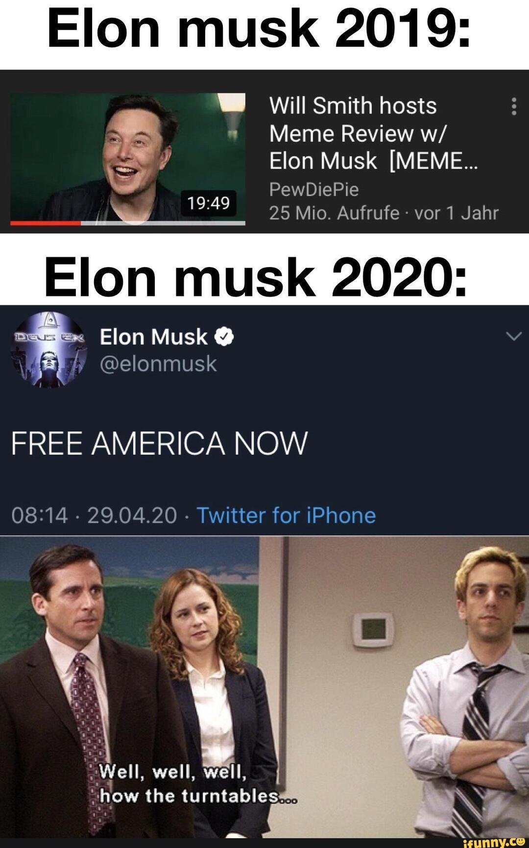 Elon musk 2019: W Will Smith hosts Meme Review w/ Elon ...