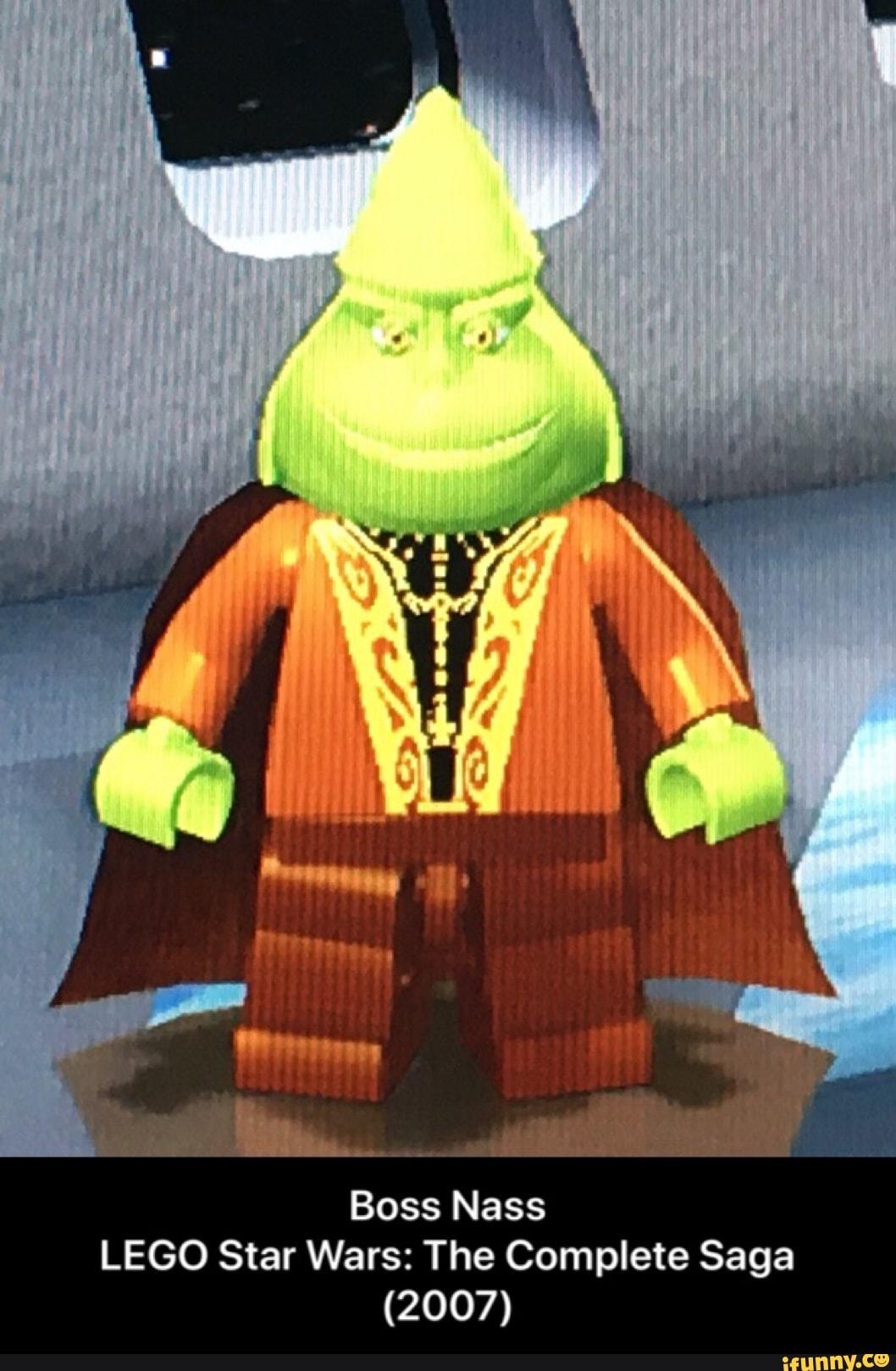 Boss Nass Lego Star Wars The Complete Saga 2007 Ifunny