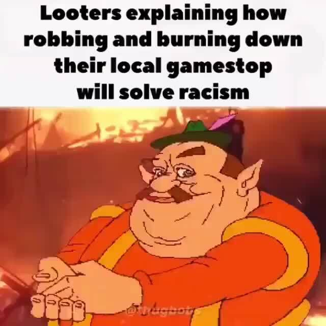 Looters Explaining How Robbing And Burning Down Their Local
