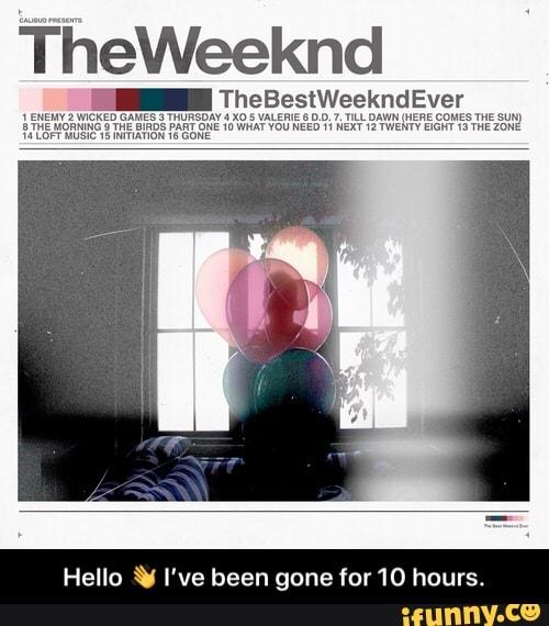 thursday mixtape the weeknd - 500×500