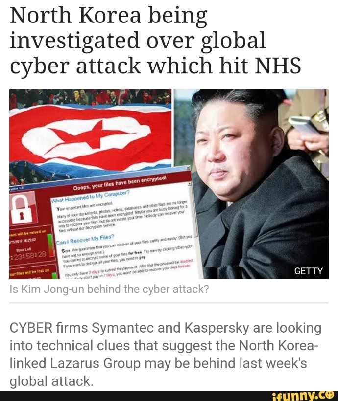 Global Cyber University Korea: North Korea Being Investigated Over Global Cyber Attack