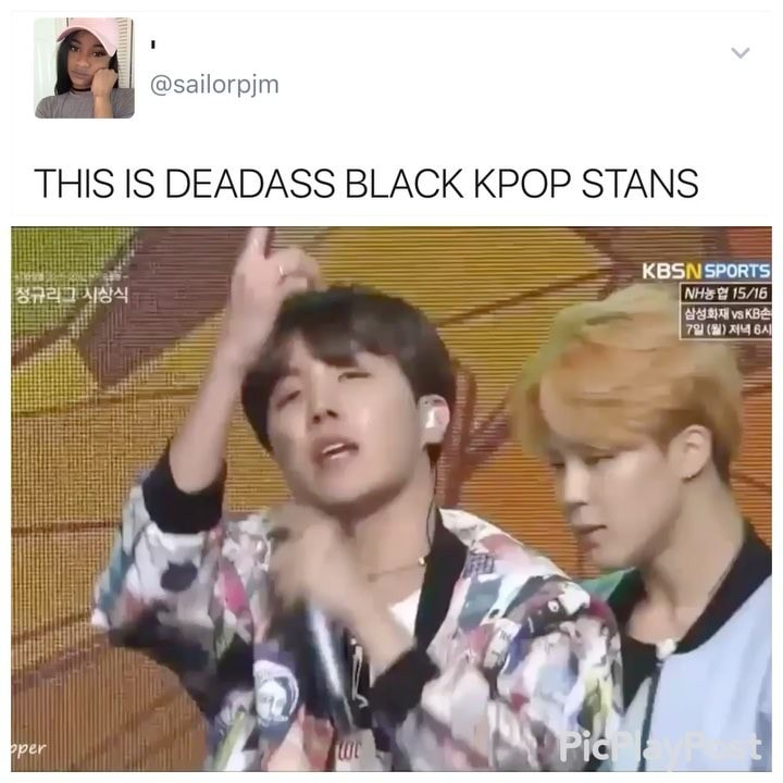 This Is Deadass Black Kpop Stans Ifunny