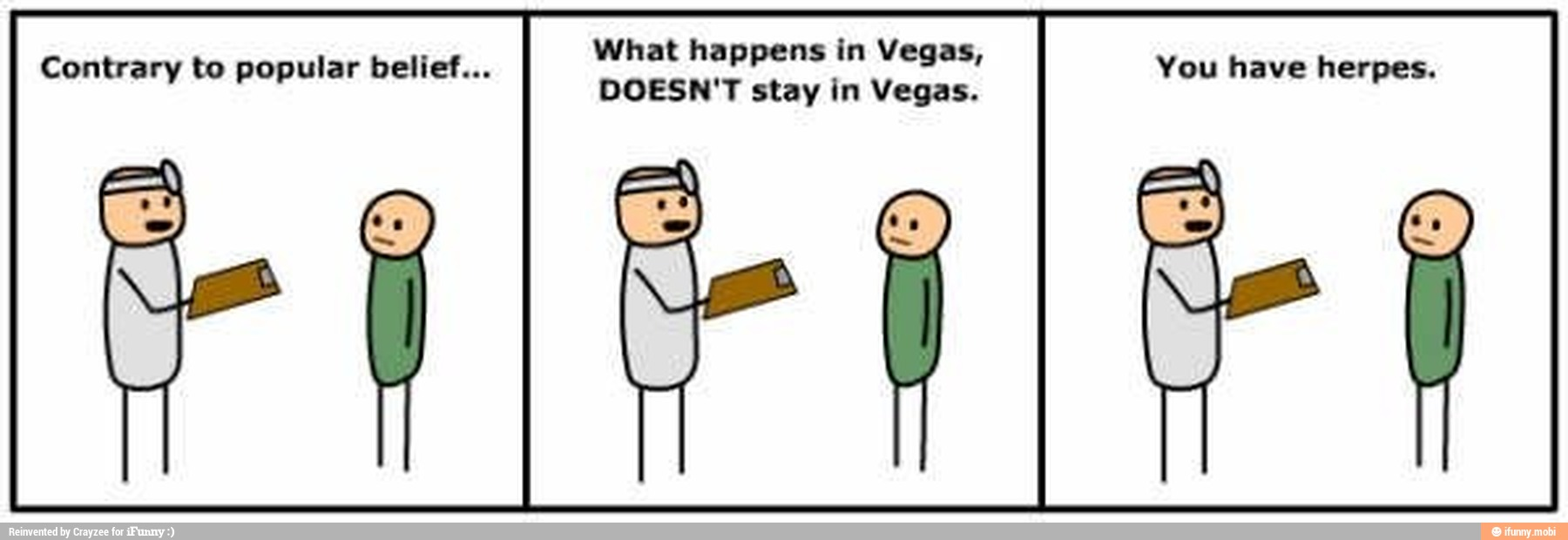 What Happens In Vegas Lief You Have Herpes Contrary To