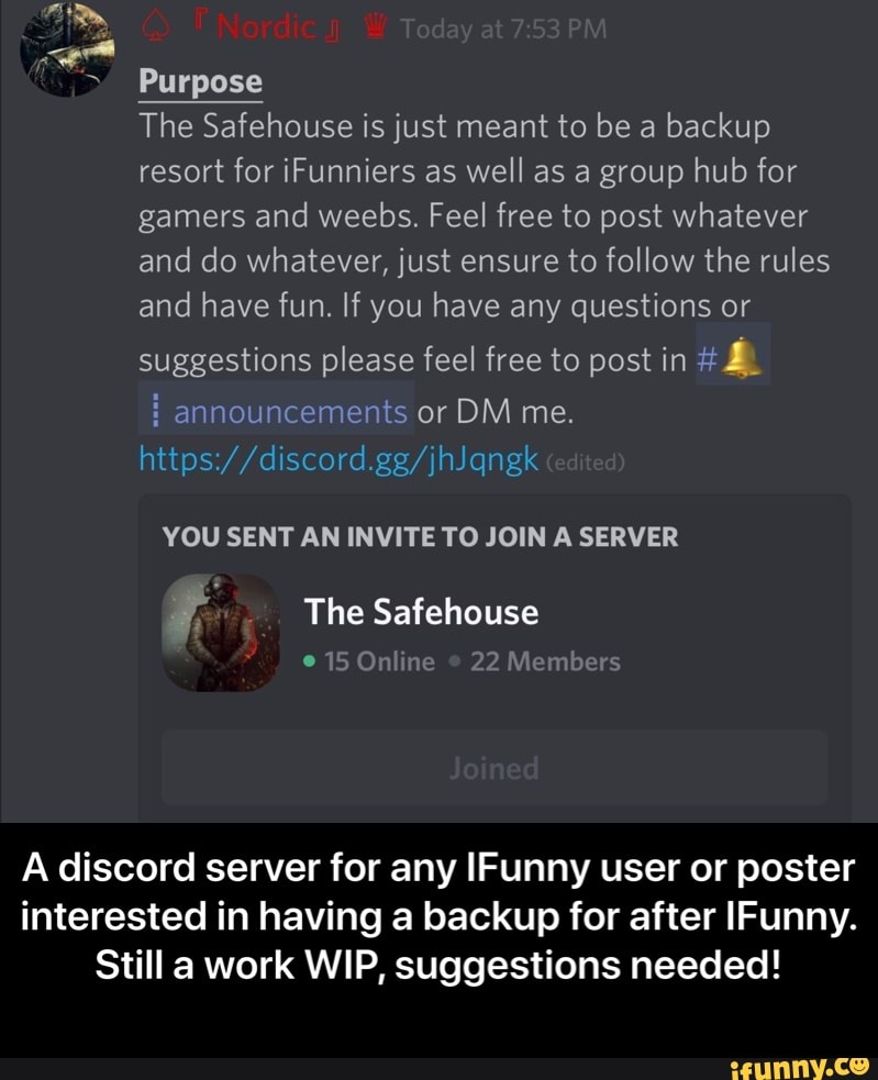 Eel Purpose The Safehouse Is Just Meant To Be A Backup