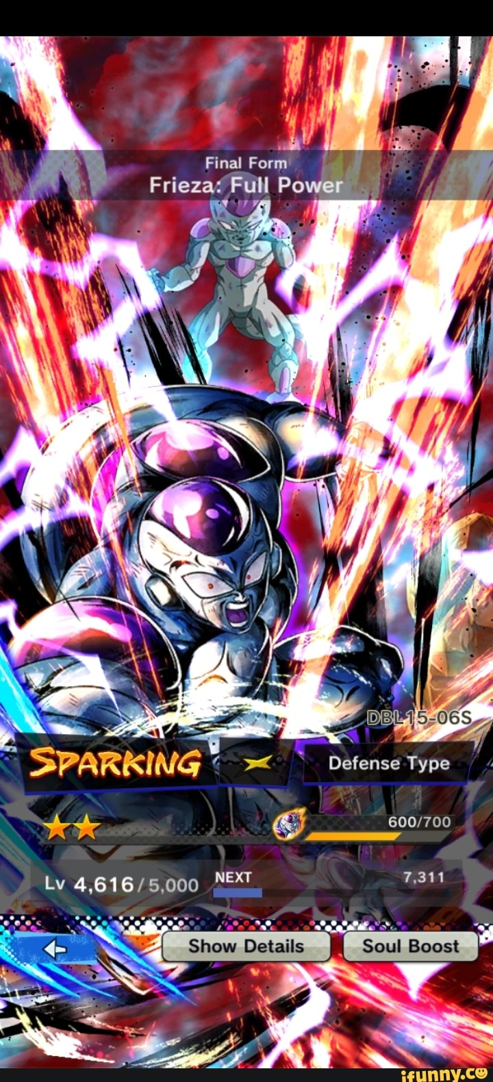 Goku Super Saiyan Final Form' Frieza Full Power SPARKING ...