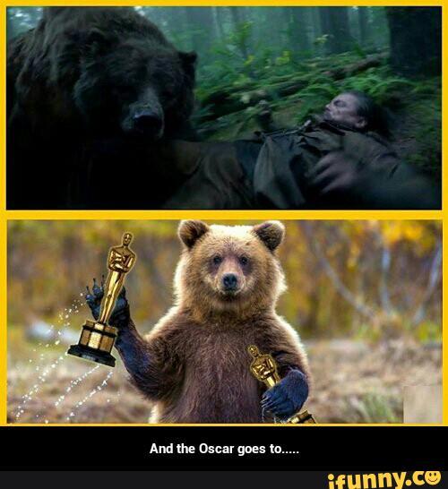 препарат картинка медведь с оскаром вечеринке, красной