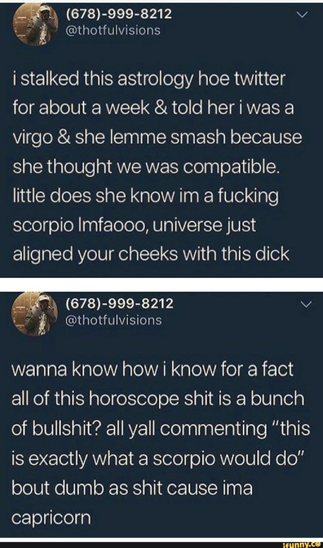 scorpio twitter horoscope