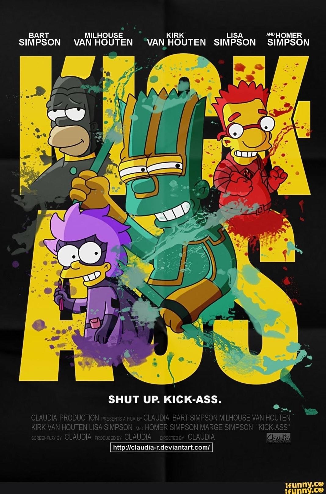 """Bart Fucks Lisa Comic milhouse ki """"""""º homer bart r lisa simpson van houten"""