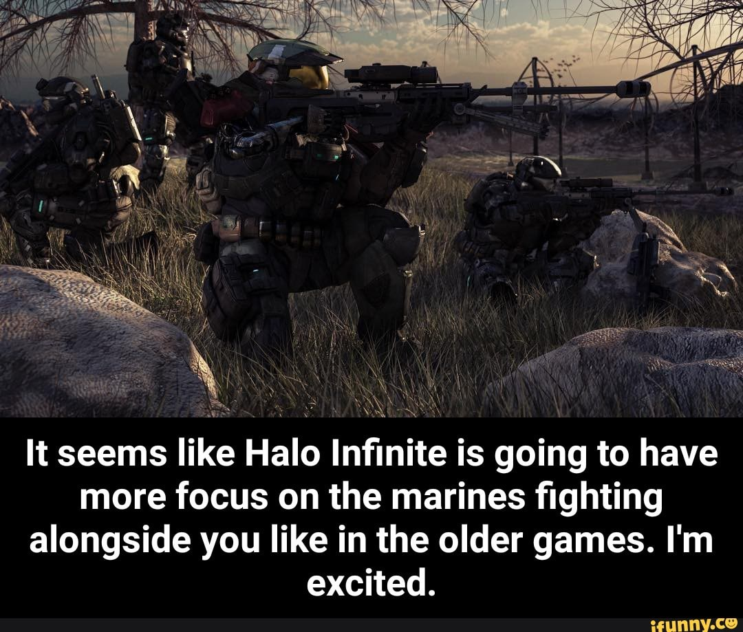 It seems like Halo Infinite is going to have more focus on