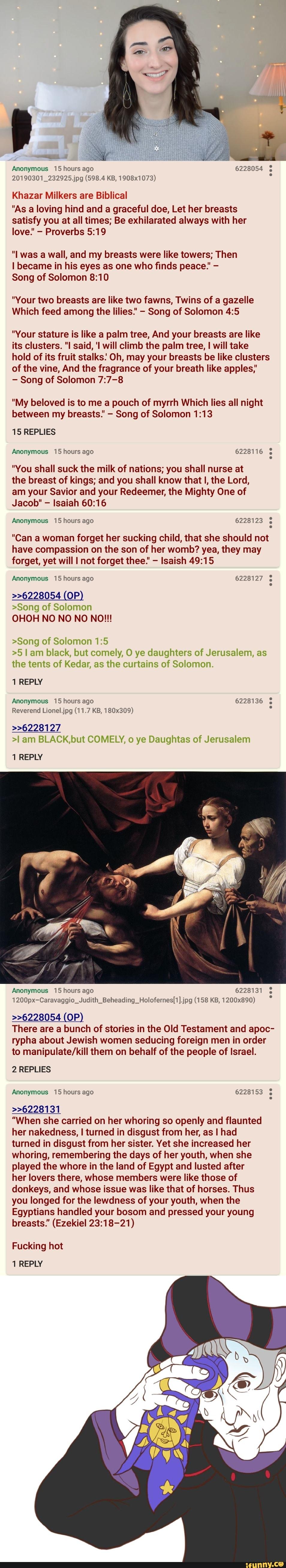 Khazar Milkers are Biblical