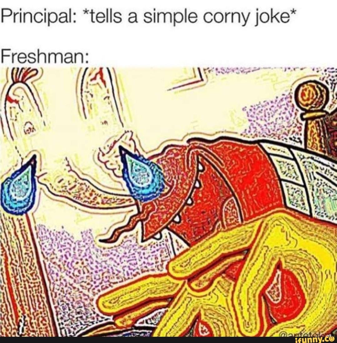Simple corny jokes